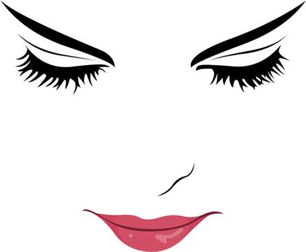 beautiful_girl_face_design_vector_set_578442